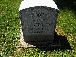 Hannah Rebecca <i>Minshall</i> Harrington