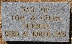 Infant daughter Turner