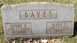 Mary <i>Boyd</i> Bayes