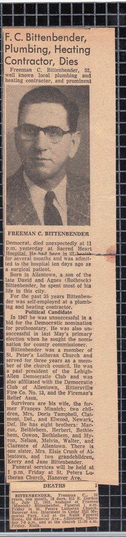 Freeman C. Bittenbender