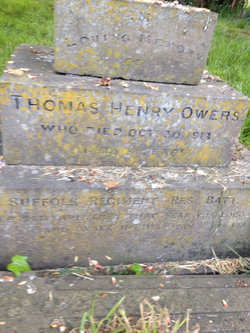 Pvt Thomas Henry Owers