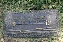 Mildred E Saunders