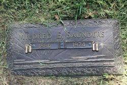 Mildred E Saunders