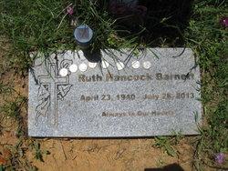 Eddie Ruth <i>Hancock</i> Barnett