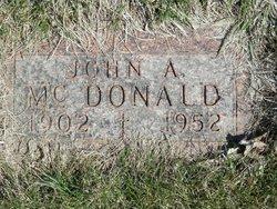 John A McDonald