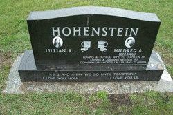 Mildred Agnes <i>Liebau</i> Hohenstein