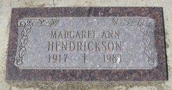 Margaret Ann <i>Lyders</i> Hendrickson