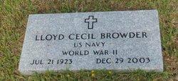 Lloyd Cecil Browder