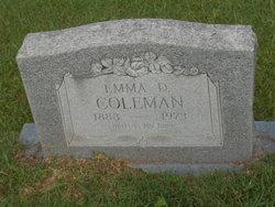 Emma D Coleman