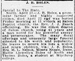 John R Boles