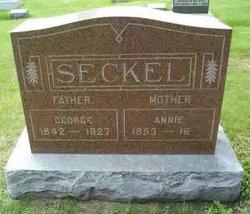 Sarah Anna Annie <i>Cobb</i> Seckel