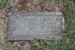 Wanda I Barclay