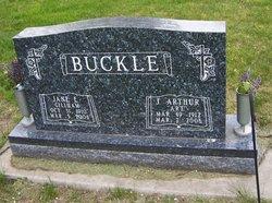 Jane E <i>Gillham</i> Buckle