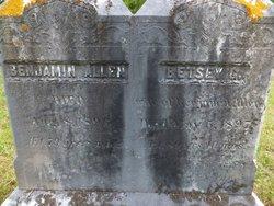 Betsey G. <i>Basford</i> Allen