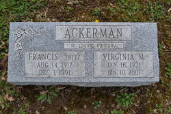 Virginia Mae <i>Rosenlieb</i> Ackerman