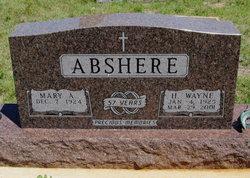 Mary A. <i>Whittington</i> Abshere
