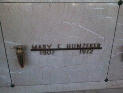 Mary Elizabeth <i>Meeks</i> Hunzeker