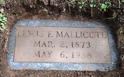 Lewis Franklin Mallicote