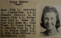 Irene Charlotte Bow <i>Bowser</i> Weiss