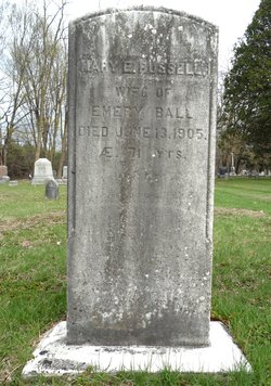 Mary E <i>Russell</i> Ball