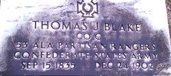 Thomas J Blake