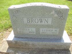 Esther L. <i>Schenck</i> Brown