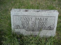 Pansy Harp <i>Powell</i> Baker