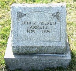 Ruth V. <i>Prickett</i> Arnett