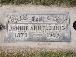 Jennie Ann <i>Randol</i> Fleming