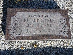 Ruth I. <i>Stillwell</i> Boltner