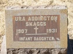 Ura Inez <i>Addington</i> Skaggs