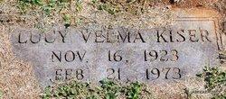 Lucy Velma <i>LaForce</i> Kiser