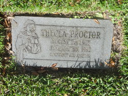 Thecla Cecilia <i>Melvin</i> Proctor