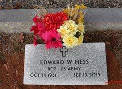 Edward W. Hess