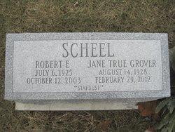 Jane True <i>Grover</i> Scheel