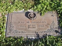 Rae Maxine <i>Lewis</i> Badders