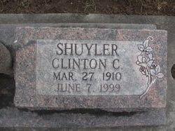 Clinton C Shuyler