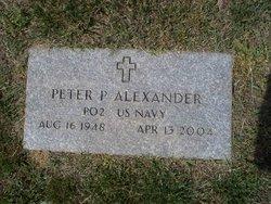 Peter P Alexander