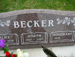 Alice <i>Tisch</i> Becker