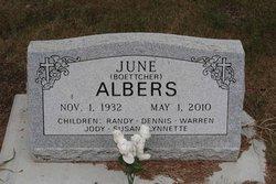 June L. <i>Boettcher</i> Albers