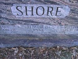Elizabeth Anne Liz <i>Adams</i> Shore