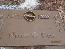 Nellie Opal <i>Johnson</i> Cole