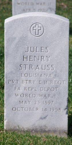 Jules Henry Strauss