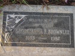 Georgianna Frances <i>Henderson</i> Brownlee