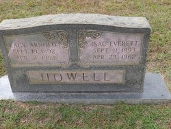 Lacy <i>Arnold</i> Howell