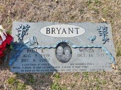Paul E. Bryant, Sr
