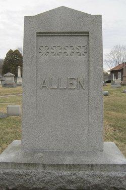Mary J. <i>Wilkin</i> Allen