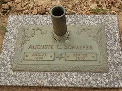 Auguste Gussie <i>Foerster</i> Schaefer