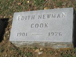 Edith <i>Newman</i> Cook