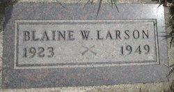 PFC Blaine W. Larson